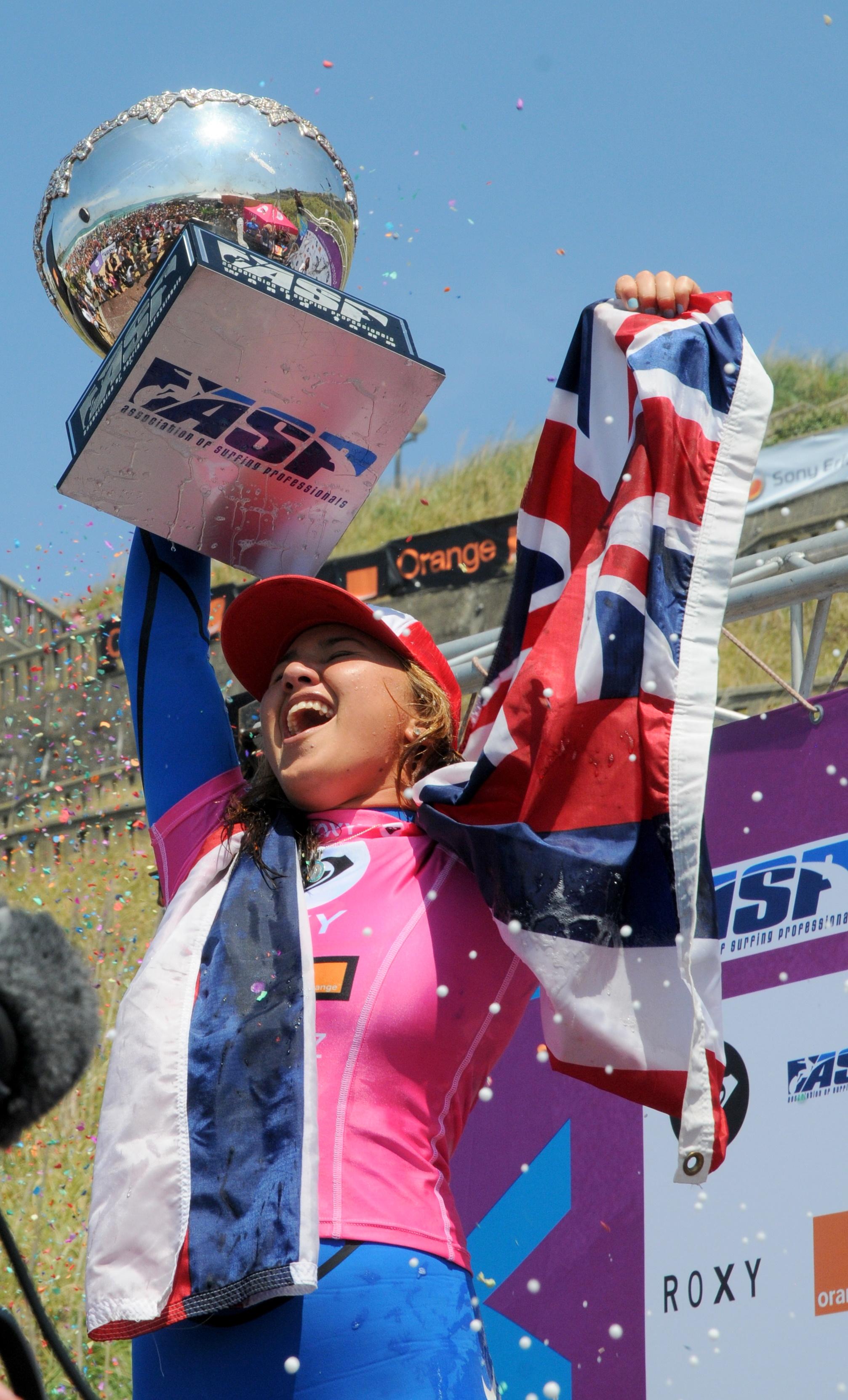 Congrats Carissa Moore World Champion 2011