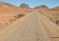 La route de la côte vers Tafraout