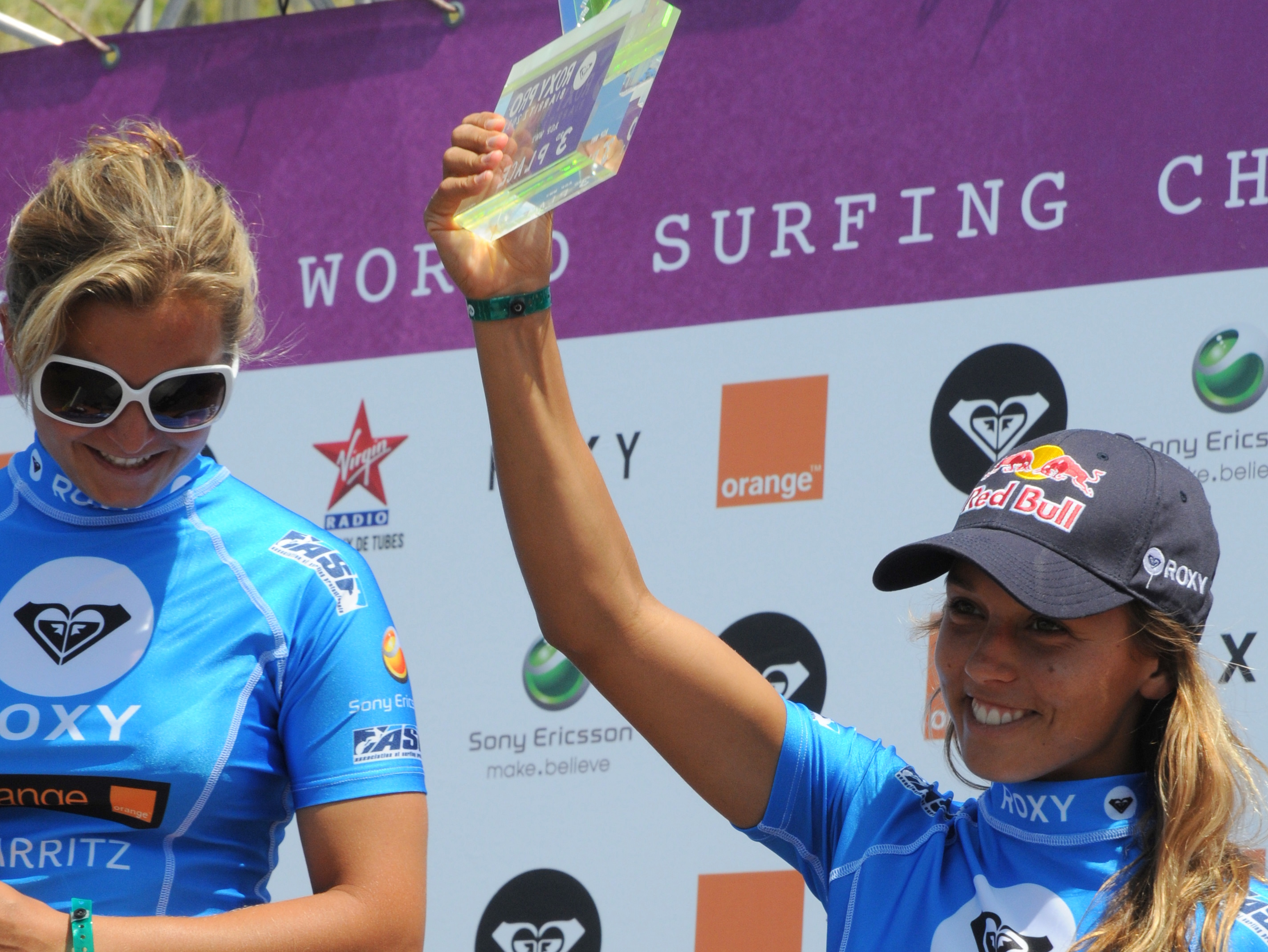 Pauline Ado et Sally Fitzgibbons