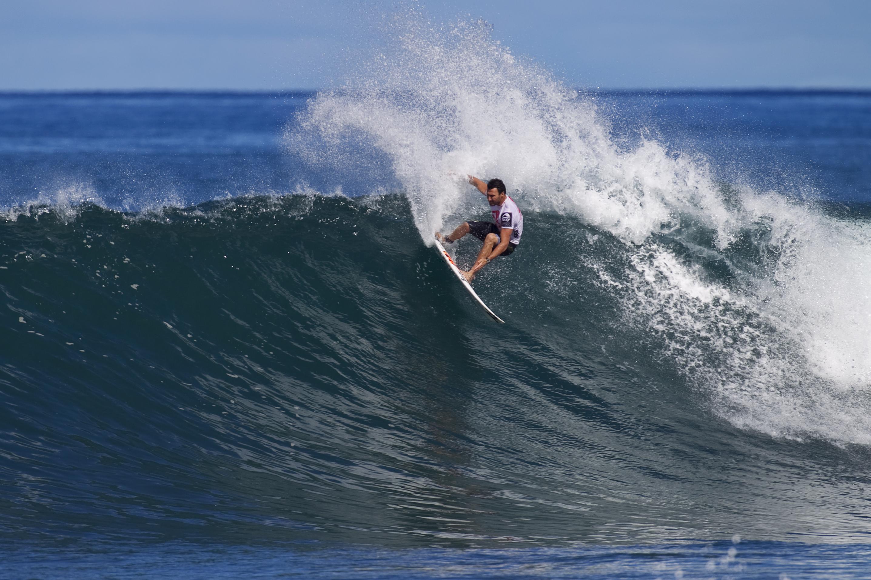 Joel Parkinson au Reef Hawaiian Pro d