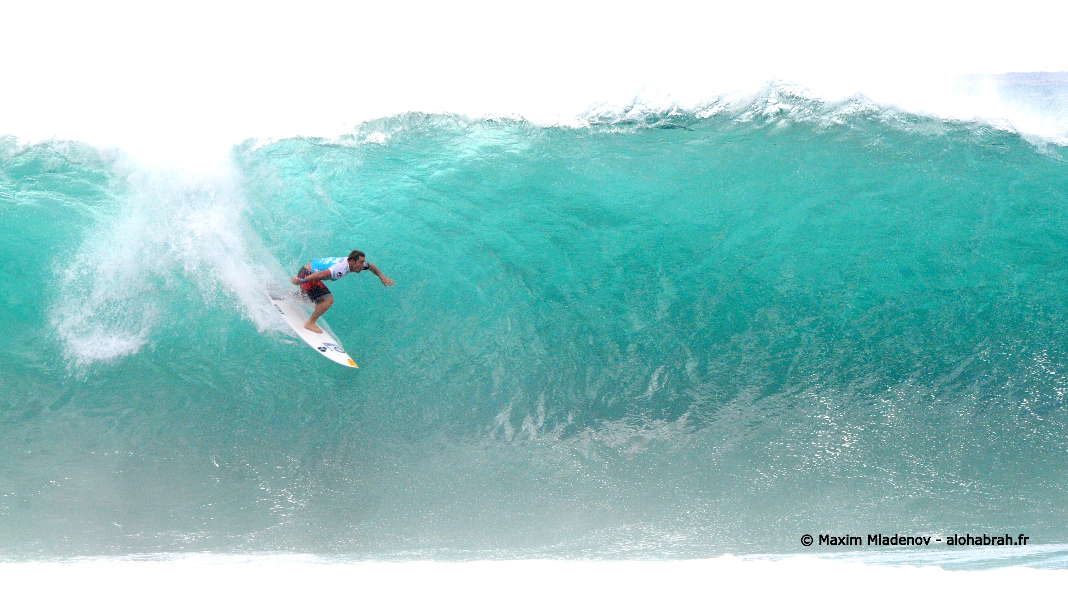 Magical effect by Kalani Chapman (Haw) - Round 5 du Pipe Masters 2011 © Maxim Mladenov - alohabrah.fr