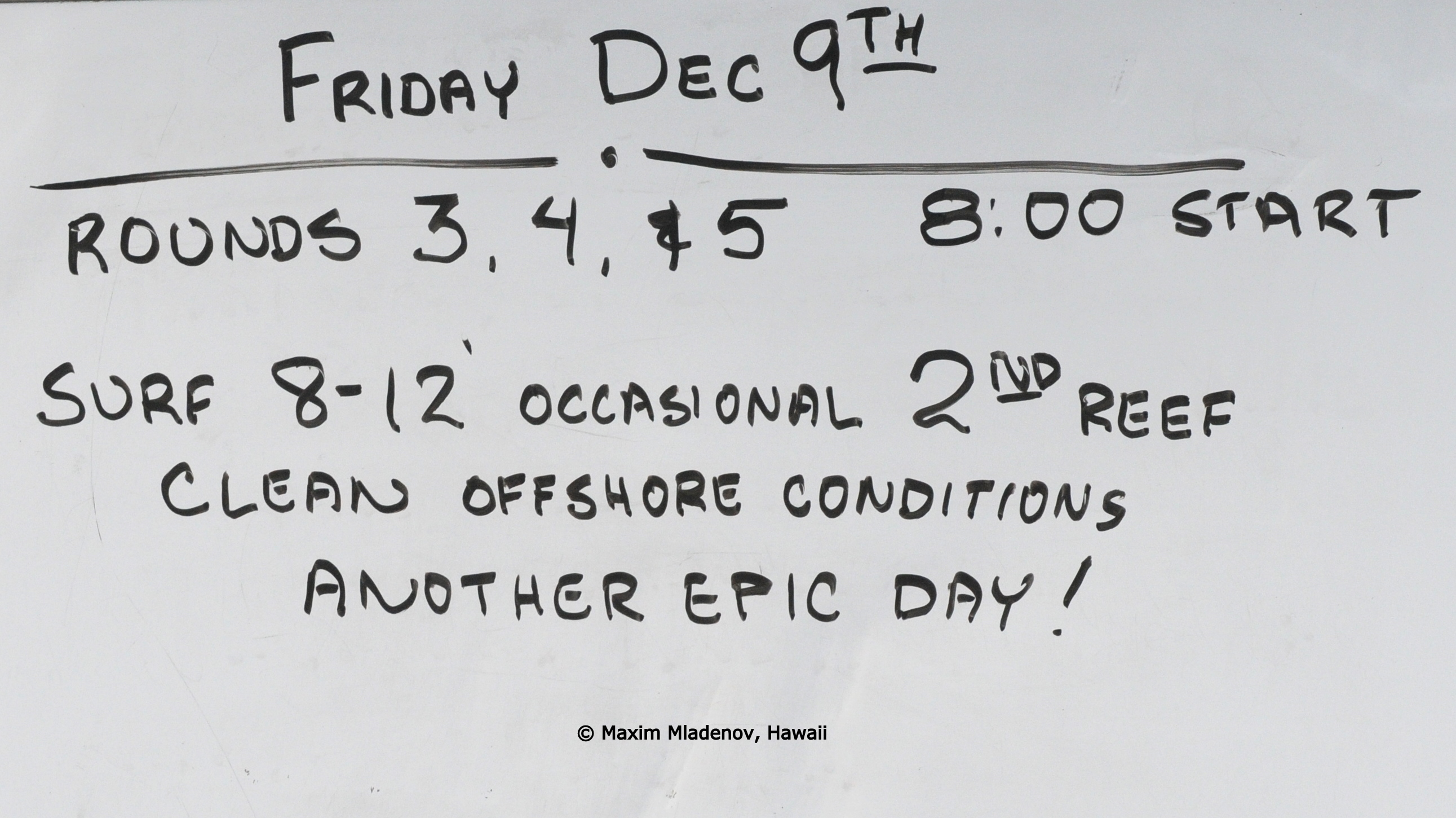 Another Epic Day, 09-12-2011 © Maxim Mladenov, Hawaii