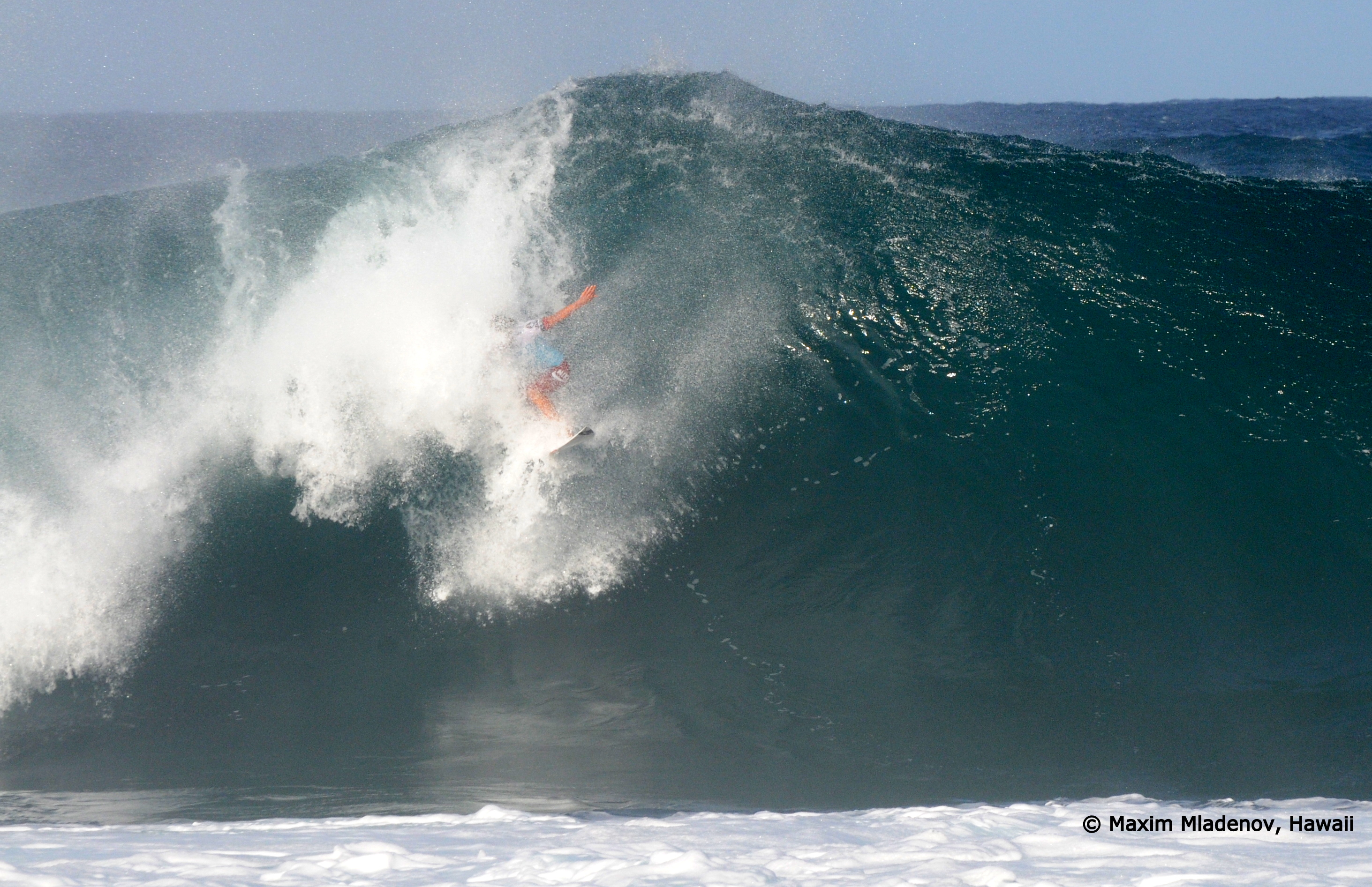 Another wipe-out, 09-12-2011 © Maxim Mladenov, Hawaii