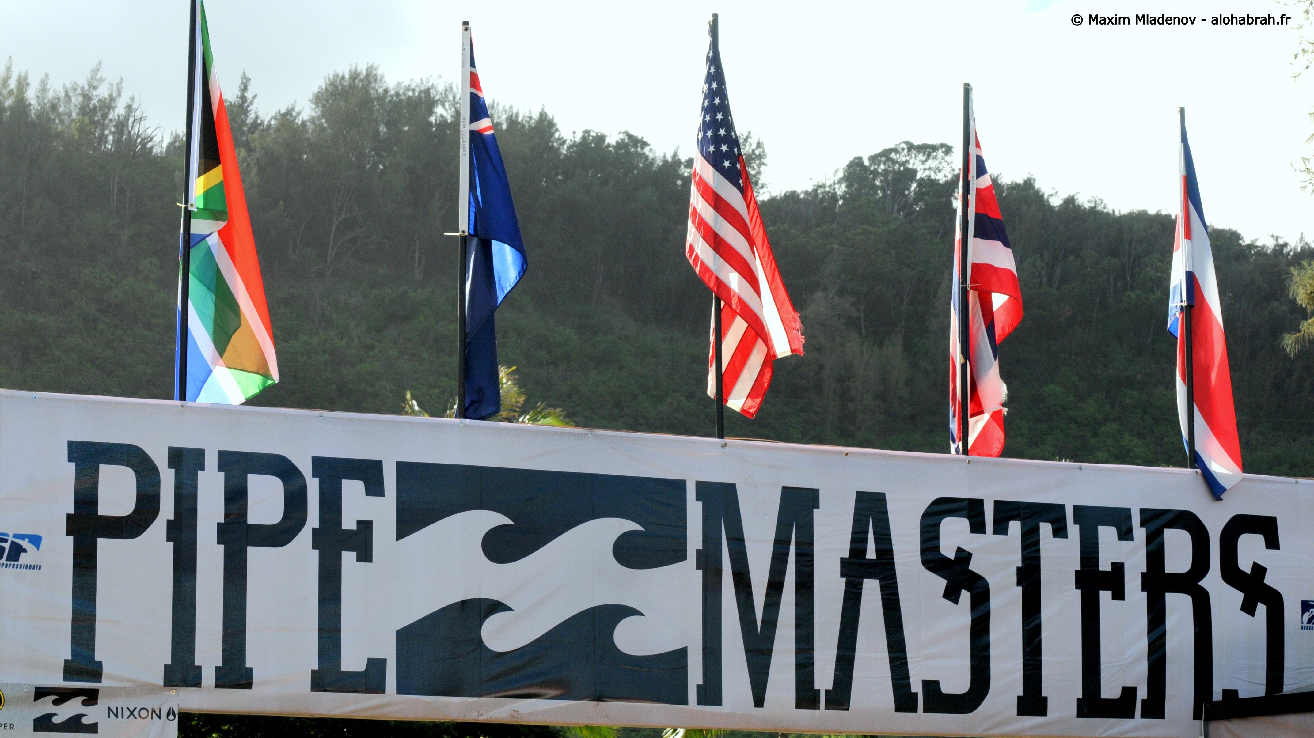 Banderole - Billabong Pipe Masters 2011 © Maxim Mladenov - alohabrah.fr