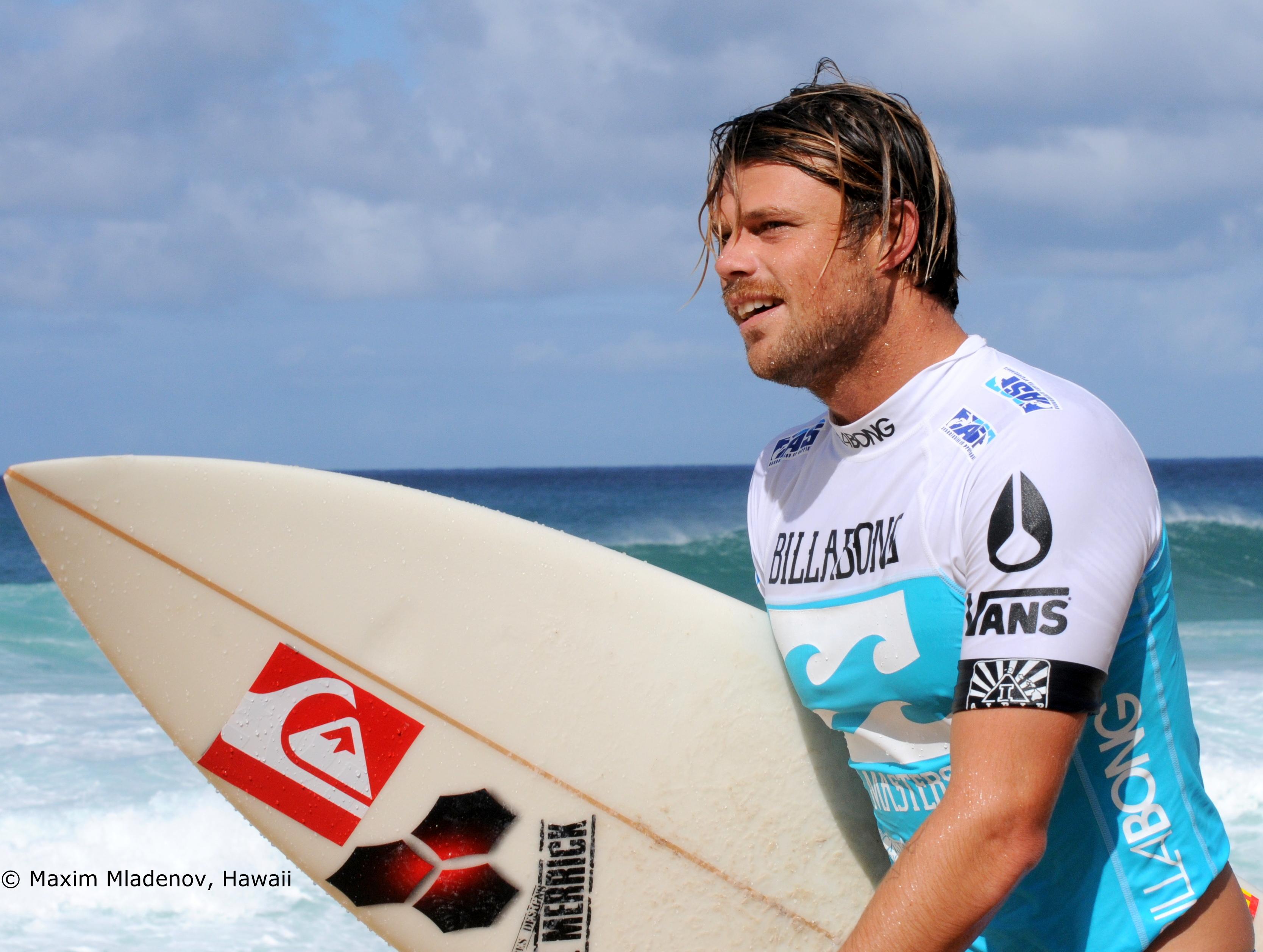 Dane Reynolds fait son dernier contest sur le World Champion Tour, Bravo, on a aimé ton surf Dane © Maxim Mladenov, Hawaii