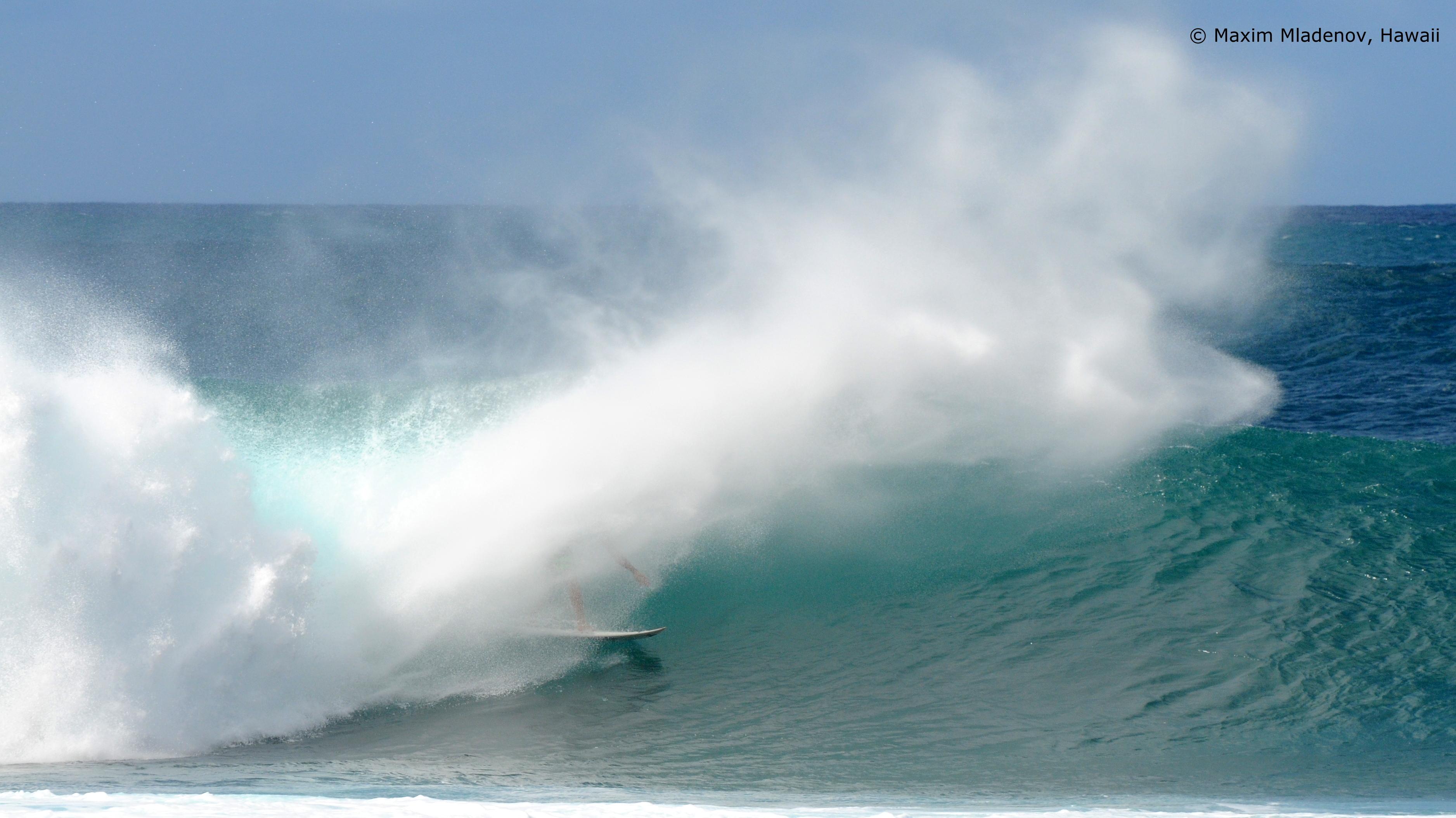 Flush - 1er Tour 08-12-2011 Billabong PIPE Masters © Maxim Mladenov, Hawaii