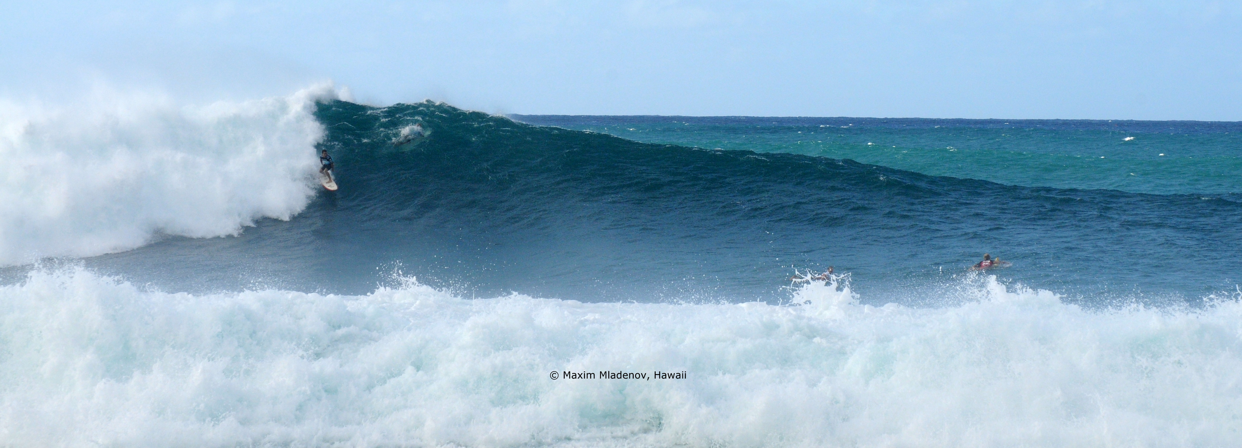 Landscape Pipeline - 1er Tour 08-12-2011 Billabong PIPE Masters © Maxim Mladenov, Hawaii