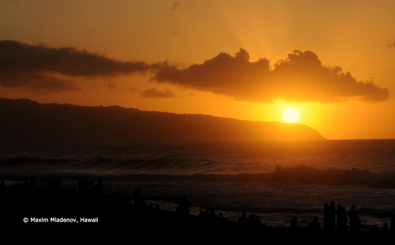 North Shore Sunset 08-12-2011 Billabong PIPE Masters © Maxim Mladenov, Hawaii