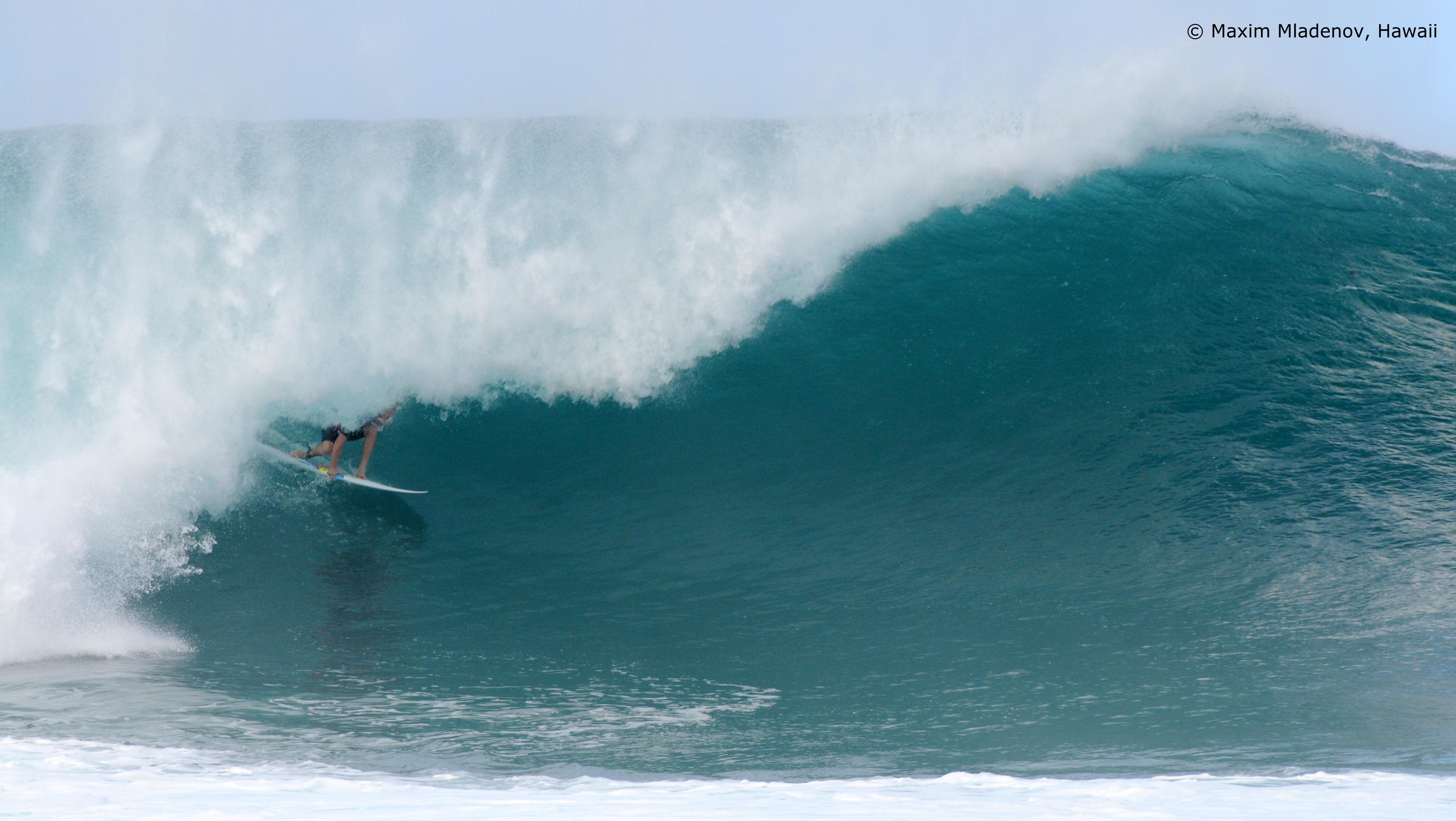 Quand faut y aller, Banzaii 03 © Maxim Mladenov, Hawaii