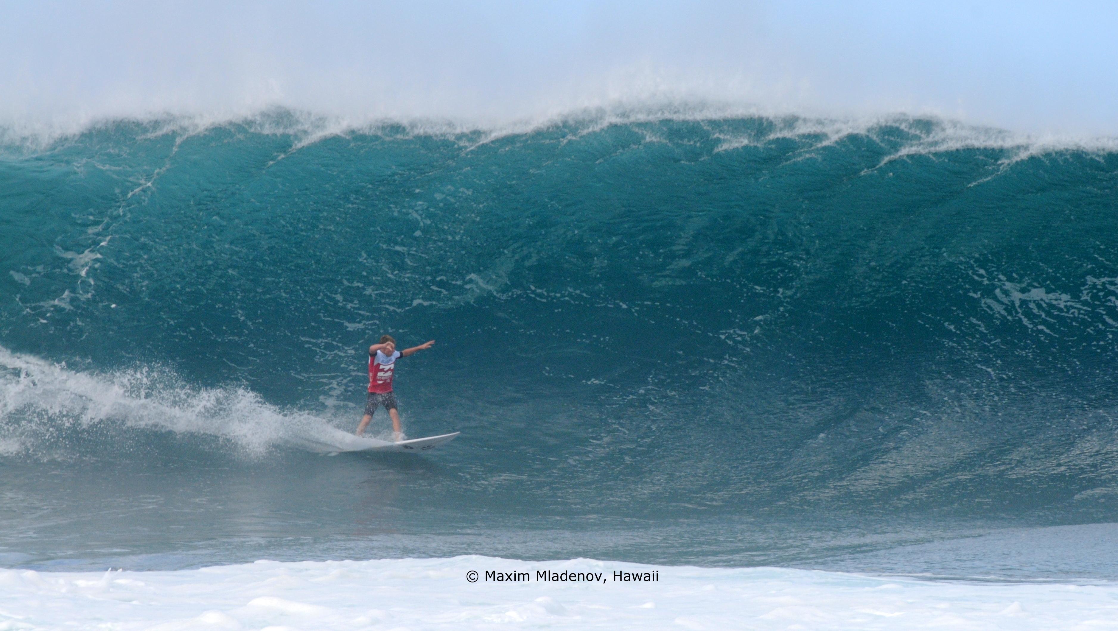 Quand faut y aller, Banzaii Pipeline 01 © Maxim Mladenov, Hawaii