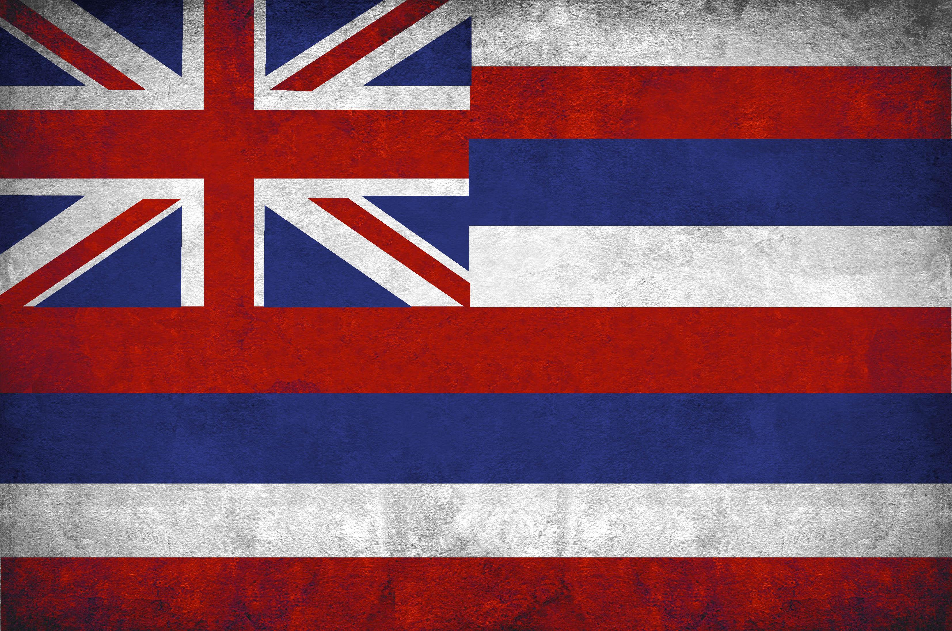 Drapeau Hawaiien