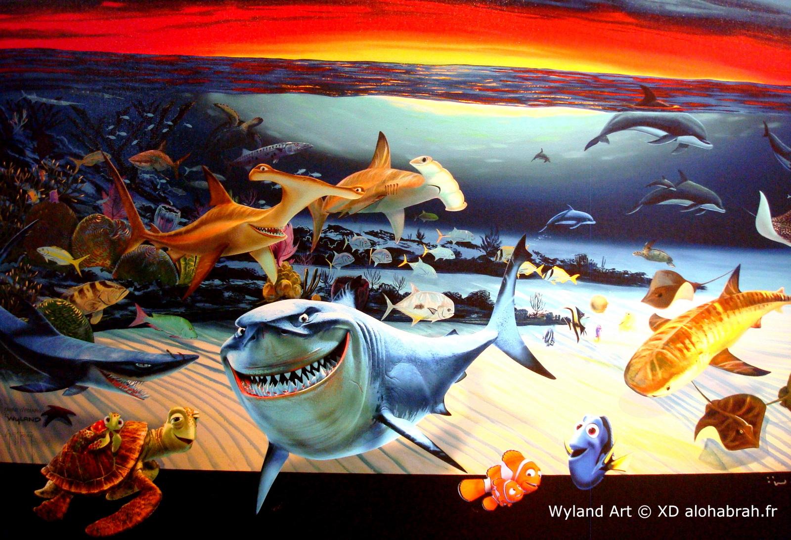 Nemo Characters - Wyland Art © XD alohabrah.fr