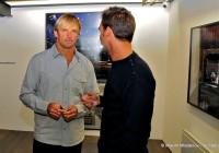 Interview rapide alohabrah avec Laird Hamilton dans la galerie Polka pour l