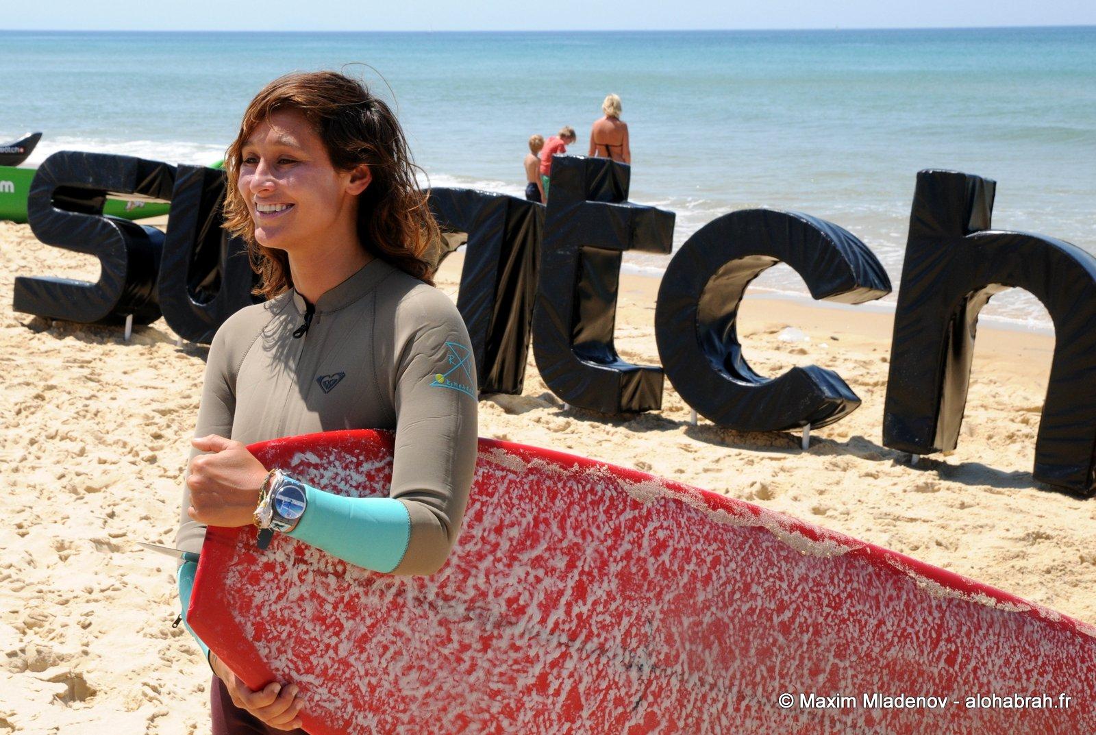 Kassia Meador séduisante et pleine de style tout au long de ce très bon Swatch Girls Pro 2012 © Maxim Mladenov - alohabrah.fr