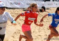 La première course est lancée avec Kassia Meador et Courtney Conlogue -SGP2012 © Maxim Mladenov - alohabrah.fr