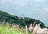 Lighthouse view from Diamond head top © Xavier Desmet - alohabrah.fr