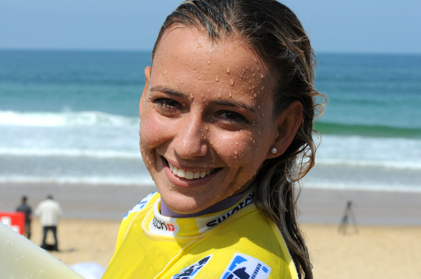 Maud Le Car au Swatch Girls Pro 2012 Day 2 © Maxim Mladenov - alohabrah.fr