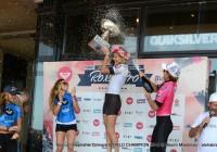 Podium Stephanie Gilmore WORLD CHAMPION 2012 @ Roxy Pro Biarritz © Maxim Mladenov - alohabrah.fr