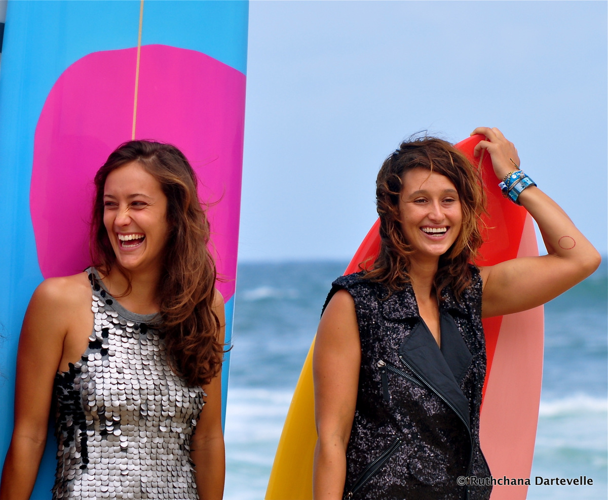 Justine Mauvin & Kassia Meador - © Ruthchana Dartevelle