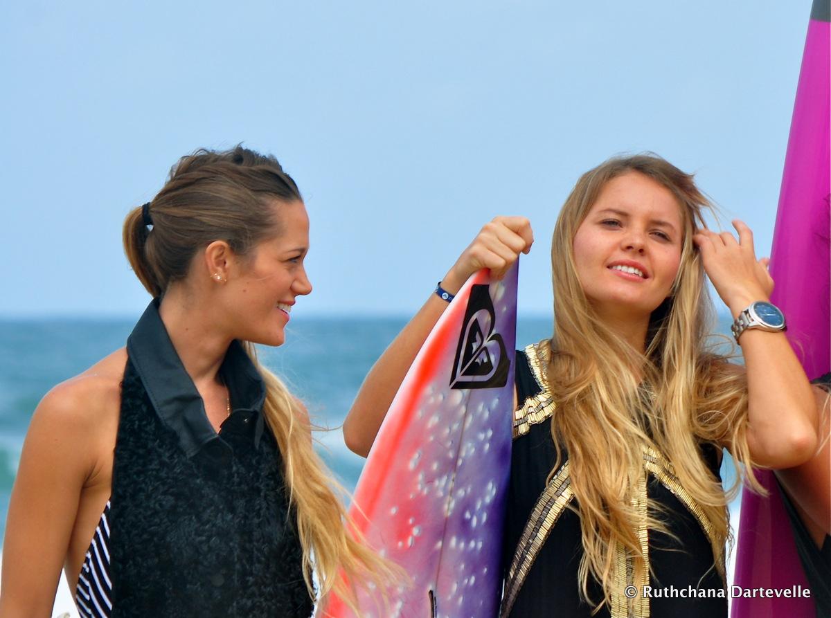 Monyca Byrne Wickey & Bruna Schmitz - © Ruthchana Dartevelle