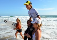 Les Françaises au Top @EDP Surf Pro Carcavelos 2012 © Xavier Desmet - alohabrah.fr