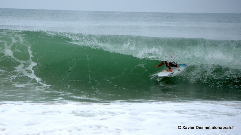 Mick Fanning @Round 1 seq2 @ Quiksilver Pro France 2012 ©Xavier Desmet - alohabrah.fr