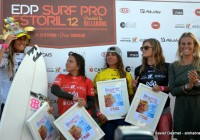 Podium @EDP Surf Pro Carcavelos 2012 © Xavier Desmet - alohabrah.fr