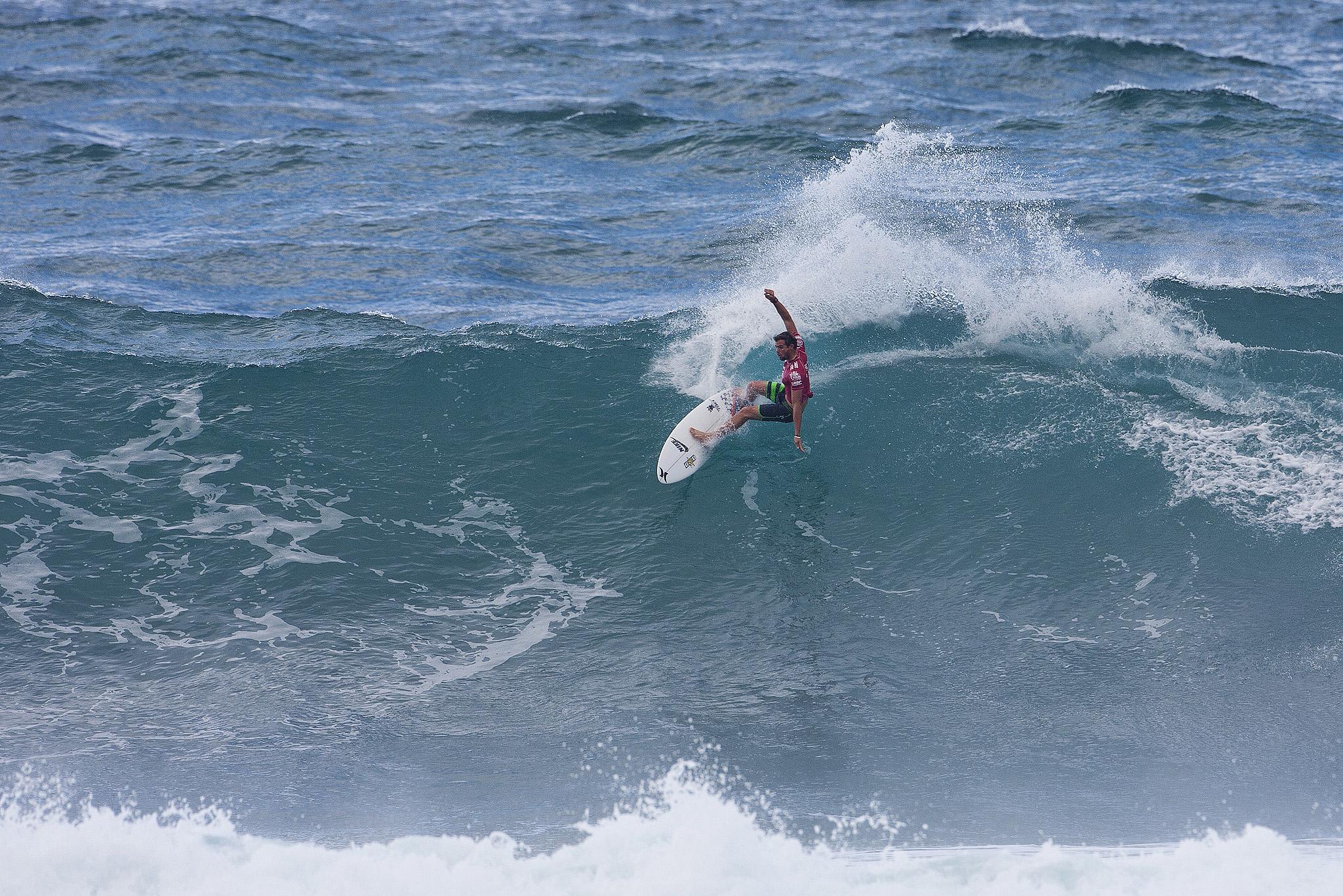 Alejo Muniz (Brasil) / Vans World Cup of Surfing/ Handout