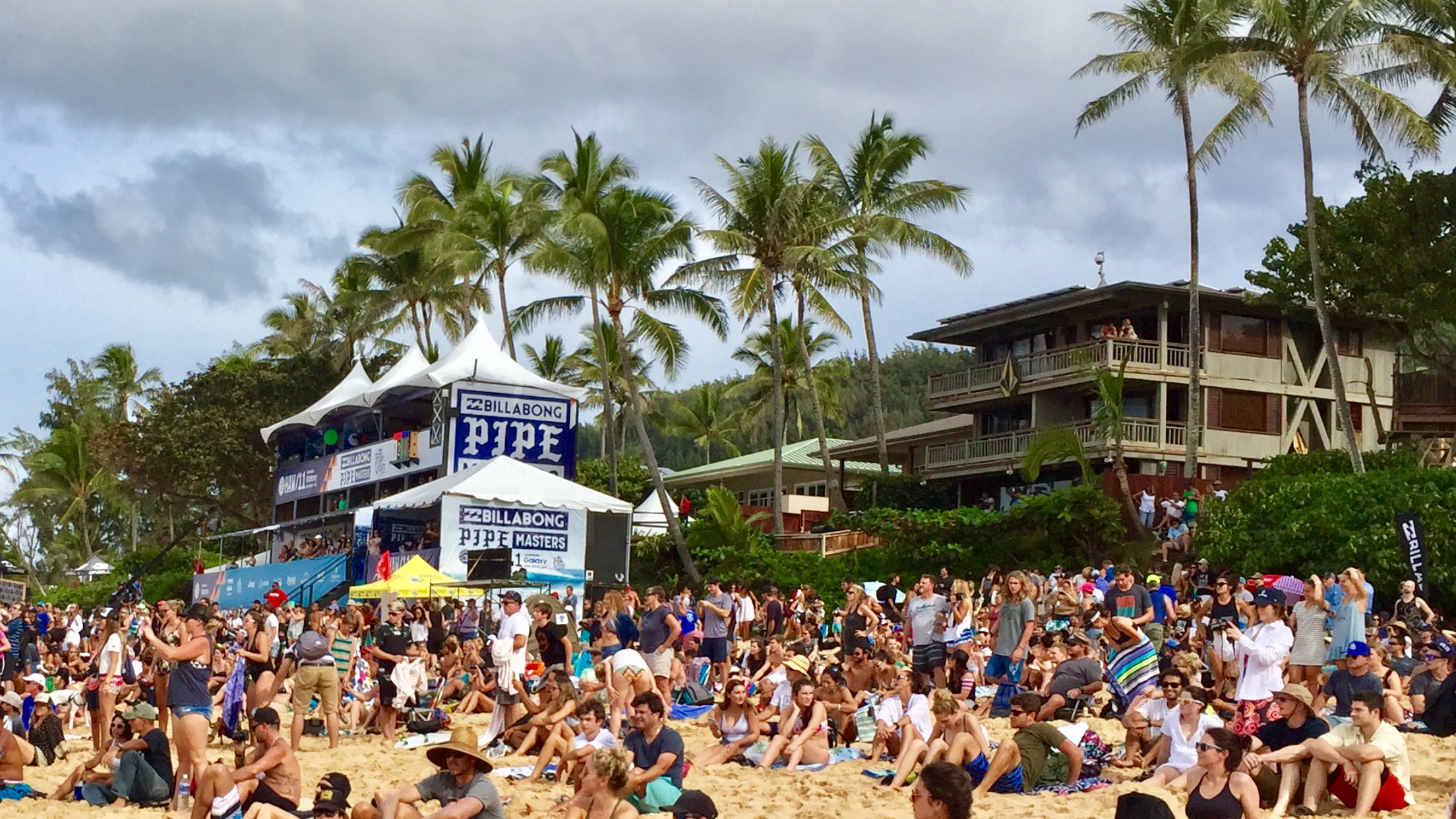 Le site du Billabong PIPE Masters 2016